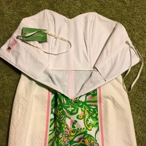 Lilly Pulitzer Dresses - NWT Lilly Pulitzer Angela Strapless Dress, 00